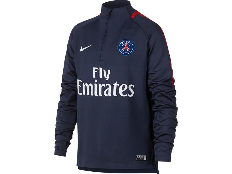 PSG Nike boys sweatshirt (17-18) 24db959ea03
