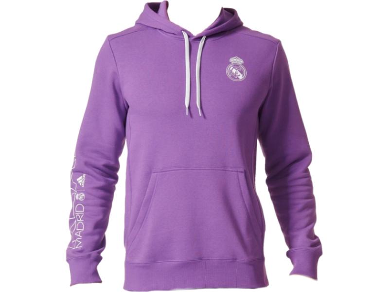 AREA101: Real Madrid CF Adidas sweatshirt 16-17 - purple RM Core ...