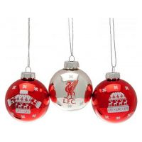 Liverpool Christmas baubles
